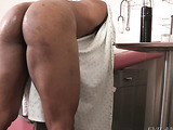 buff dude gets her ass fingered during a prostate exam