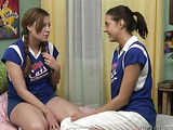 Two sexy young athletes have lesbian sex with eachother and like it a lot