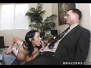 man black suite licking