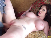barn fucking with busty
