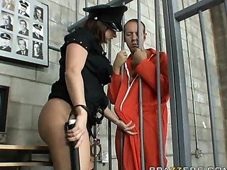 two prisoners are banging
