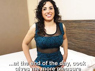 curly haired latina slut