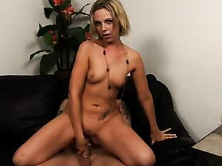 skinny blonde bitch strips