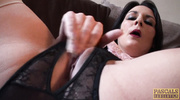 chubby mature raven with