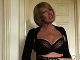 Horny fellow bones the tight pussy of a sexy submissive blonde slut
