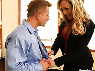 slutty blonde boss sexy