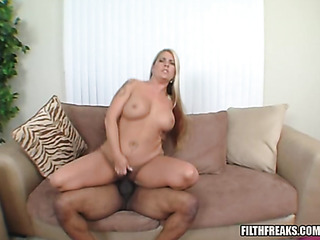 chubby blonde with big