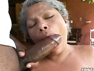 Granny Black Porno