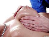 Dick-loving minx swallows a hard boner on the table