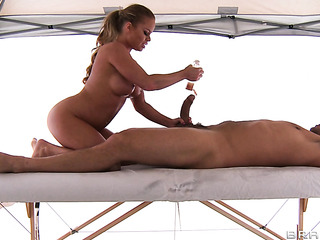 dirty masseur fucked busty