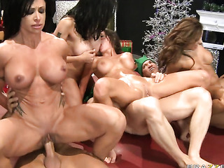 brutal group sex with