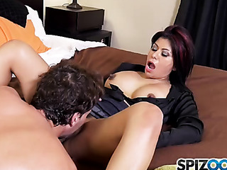big breasted milf black