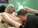 blue eyed babe with big tits gets down and dirty
