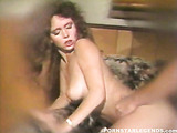 hot brunette slut gets naughty with her boyfriend on the couch