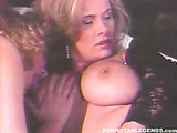 lucky guy wins a fuck with two gorgeous busty hotties