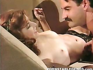 hot redhead black lingerie