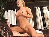 tall blonde milf got her pussy drilled by a younger stud