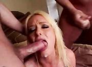 naughty blonde slut black