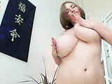 Pierced clit brunette dildo-fucking her pussy on a couch