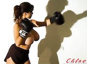 shadow boxing brunette shorts