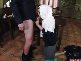 pretty arab woman with