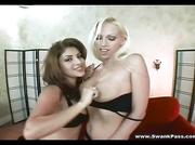 kinky big breasted blonde