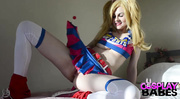 lollipop chainsaw pigtailed blonde