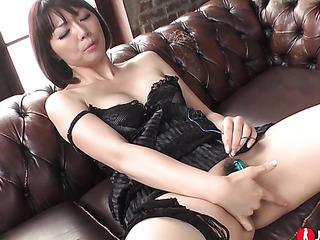 big-tit asian black dress