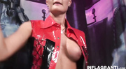 milf red latex intensively
