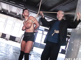 torturing submissive busty milf