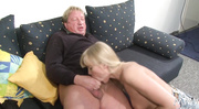 big-tit blonde gives deep