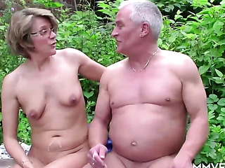 farmer nailed hot-shaped mature