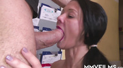 slender milf with red