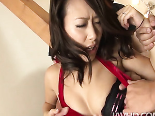 horny asian blowjob