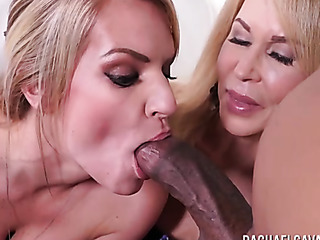 interracial mom fucks daughter