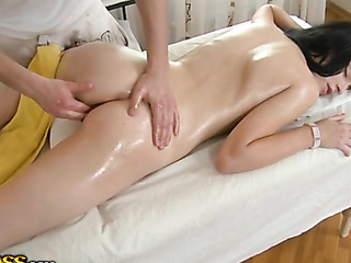 wet massage porn