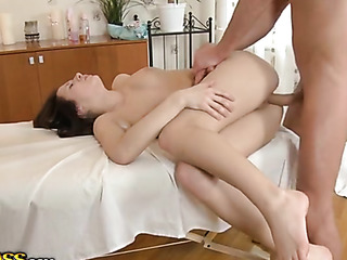 small tits hot massage