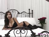Stunning big boobs bra tease