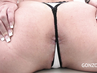 big-assed beauty's anal and