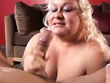 Big boobs chubby loving blowjob