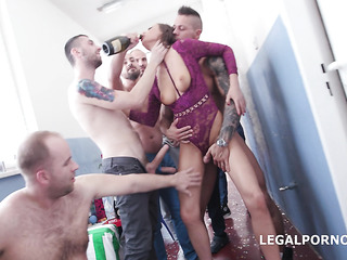 gangbang drunk british girl