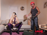 Paying the plumber with her pussy