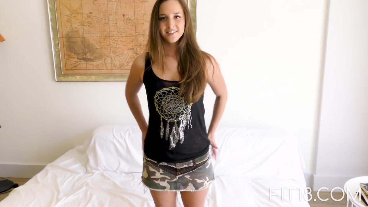 Teen Casting 18 First Time