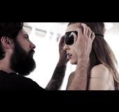 Blindfolded bdsm date with stranger