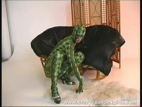 Dinosaur suit porn