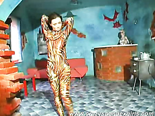 monika hot tiger-woman