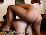 Mature lady enjoys cock