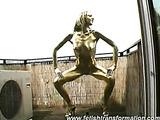 Golden Detti erotically posing