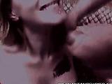 Prego Brunette Showing Off Her Boobs