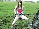 Wanda on a meadow